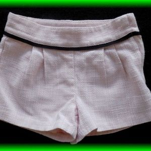 Janie and Jack Bottoms - Janie and Jack Parisian Park Pink Shorts Sz 18 24